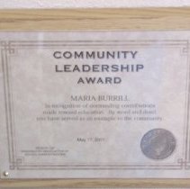 Image of 2005.37.1 - Certificate, Achievement