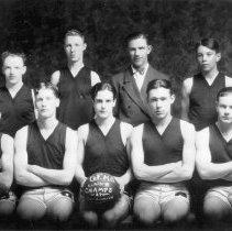 Image of 1927 GFHS men's basketball team