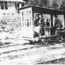 Image of Riding the rails in Silverton