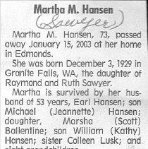 Image of 2006.69.9 - Obituary
