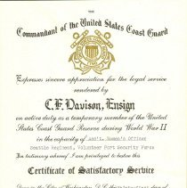 Image of 2009.11.9 - Certificate
