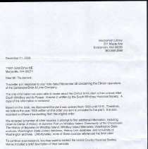 Image of 2010.5.1 - Letter