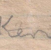 Image of 2014.10.64 - Signature