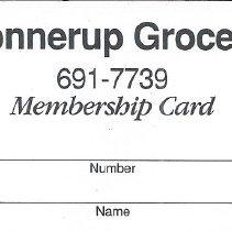Image of 2015.3 - Membership Cards