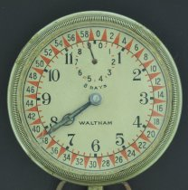 Image of Waltham automobile clock