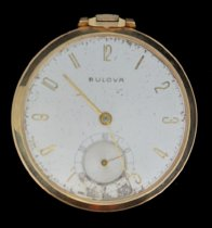 Image of Bulova pocket watch
