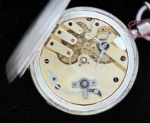 Image of A. Huguenin pocket watch