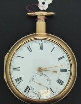 Image of Sayre & Richards pocket watch