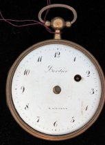 Image of Bordier pocket watch
