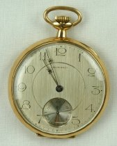 Image of E. Howard Watch Co. pocket watch