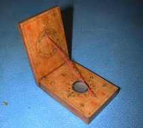 Image of Wooden Compass & Sundial