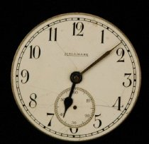 Image of Hallmark (Illinois Watch Co) pocketwatch