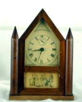 Image of Burroughs Co. shelf clock
