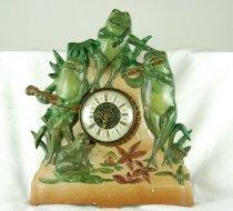 Image of Golden Boy shelf clock