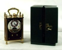 Image of Clock, Carriage - 82.90.54
