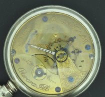 Image of Aurora Watch Co. pocket watch