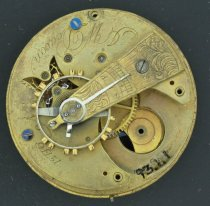 Image of US Watch Co. pocket watch
