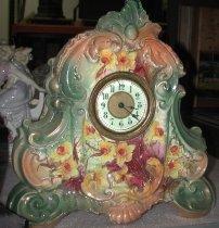 Image of Porcelain Shelf Clock