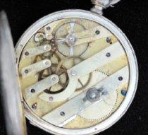 Image of Huguenin pocket watch