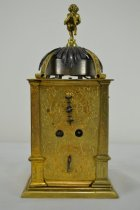 Image of German Table Clock- back