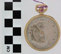 Image of Nassau pocket watch dial