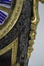 Image of Vincenti Et Cie - Bracket Clock - Front Flourish Damage
