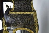 Image of Vincenti Et Cie - Bracket Clock - Side Flourish Detail and Damage