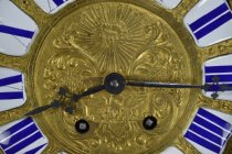 Image of Vincenti Et Cie - Bracket Clock - Dial and Hand Detail