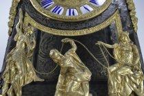 Image of Vincenti Et Cie - Bracket Clock - Three Fates at base