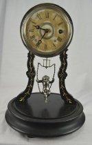 Image of F. Kroeber shelf clock