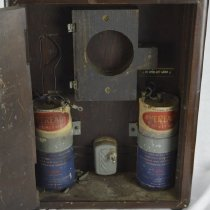Image of Conlan Electric Co.- inside clock