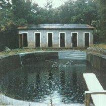 Image of 1982.57.11 - Swimming pool ruins at Napa Soda Springs