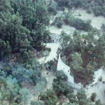 Image of 1982.57.19 - Aerial view of ruins at Napa Soda Springs