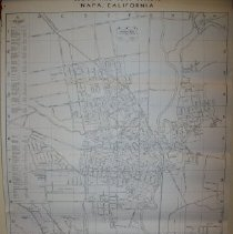 Image of Napa Street Map