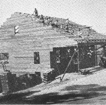 Image of 1984.35.6 - Mt. George Farm Center under construction