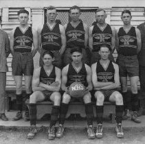 Image of 1985.9.38 - Napa Union High basketball team