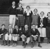 Image of 1985.9.42 - Napa Union High students