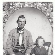 Image of 1986.28.2e - Calvin Chesterfield Griffith and son