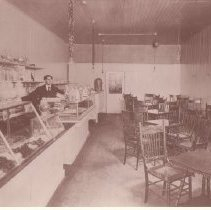 Image of 1988.1.20 - Edward F. Bryant in his First Store