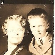 "Image of 1988.12.2 - William ""Billy"" Bellamy and his mother"