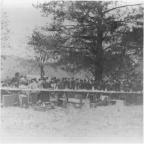 Image of 1990.91.1 - Native Sons of the Golden West banquet