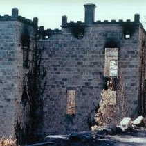 Image of 1991.28.2 - Napa Soda Springs ruins after 1960 fire