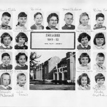 Image of 1991.57.13 - First grade at Shearer School