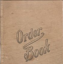 Image of 979.419 - Order Book, Salvador Center of the Napa County Farm Bureau