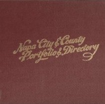 Image of 979.419 - Napa City and County Portfolio and Directory