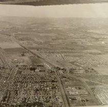 Image of 1998.3.3 - Arial View of Napa looking Southwest
