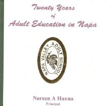 Image of Twenty Years of Adult Education in Napa