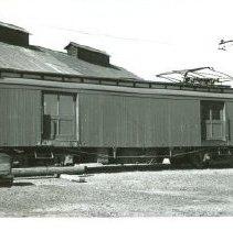 Image of 2002.27.7 - Napa Valley Route rail car 500 in Napa, California.