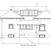 Image of Lindow Rear Elevation