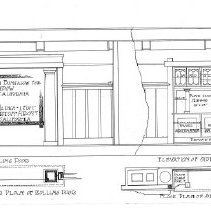 Image of Lindow Rolling Door and Sideboard